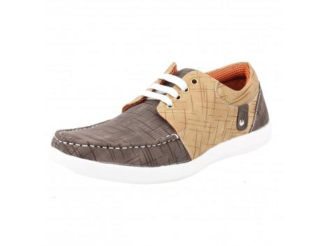 Kassler Men Laceup Canvas Shoes
