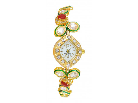 SPE Analog White Dial Women's Watch - BW-04