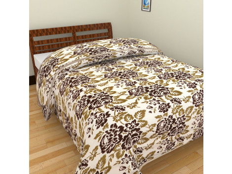 Tiger Yellow Single Bed Blankets