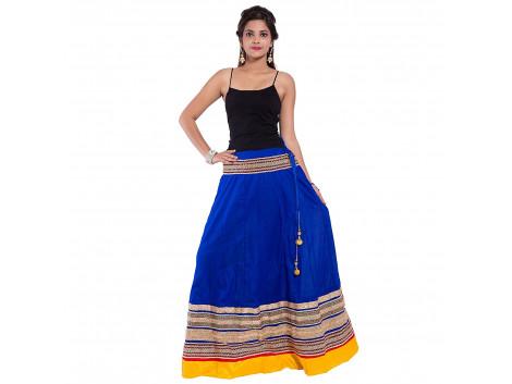 Archiecs Creation Women's Regular Embroidered Skirt (Free Size-SKT515)