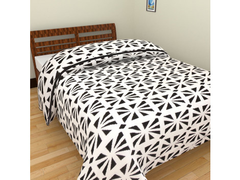 Flower Print Single Bed Blankets