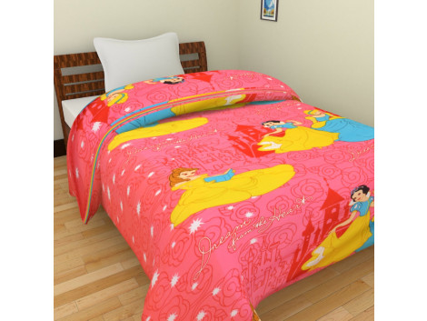 Krishna Polycotton Cartoon Single Bed Blankets