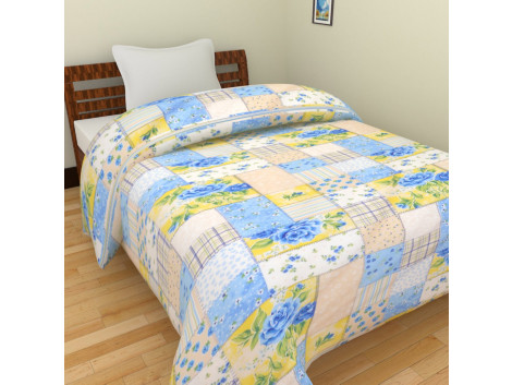 Polycotton Floral Single Bed Blankets