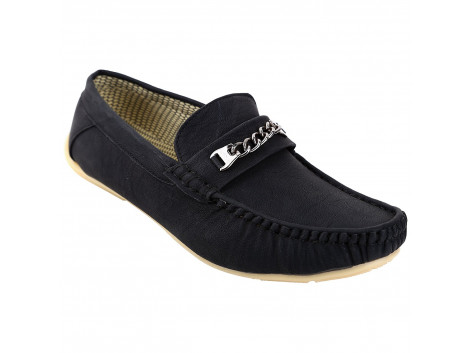 Kassler Black Stylish & Trendy Casual Shoes/Loafers