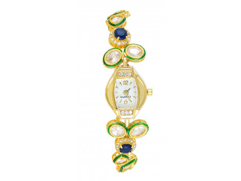 SPE Analog White Dial Women's Watch - BW-02