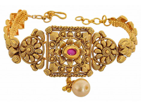 SPE Gold Metal Armlet for Women (A-04)