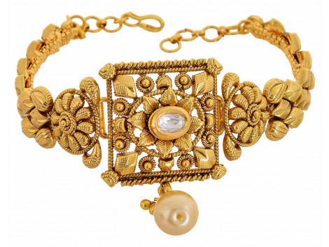 SPE Gold Metal Armlet for Women (A-04-1)