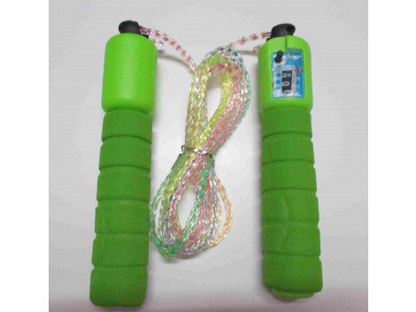 Glitter Skipping Rope With Counter , Exercise Skipping Rope (Color May Vary)