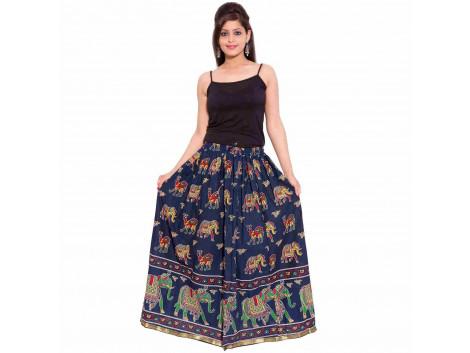 Archiecs Creation Self Design Women's Regular Skirt (Free Size-SKT502)