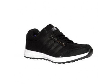 Glamour Black Sports Shoes (ART-4043)