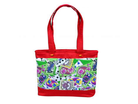 Angelfish Digital Handbag Red