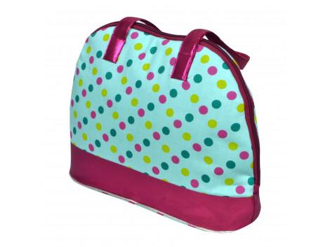 Angelfish Designer Silk fabric stylish tote shoulder bag