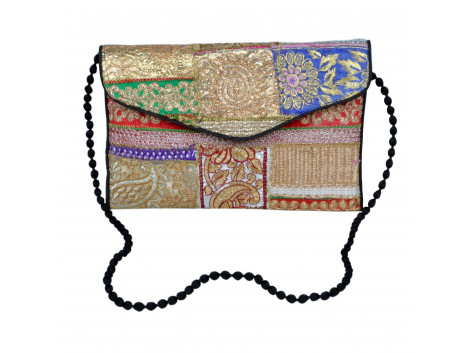 Angelfish Handcrafted laces cross body bag