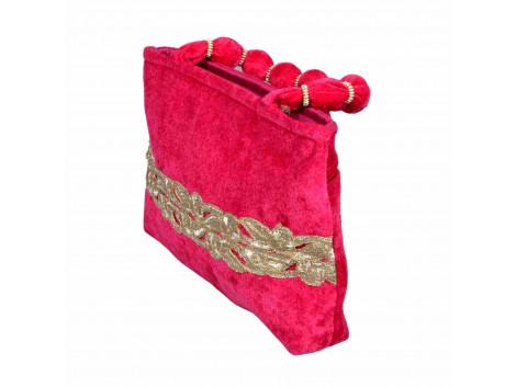 Designer Velvet handbag