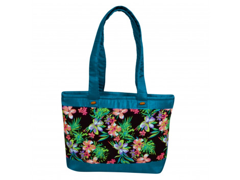 Angelfish digital handbag sea green