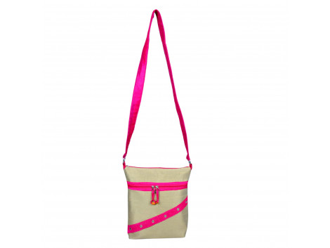 Angelfish sling bag dupeon fabric