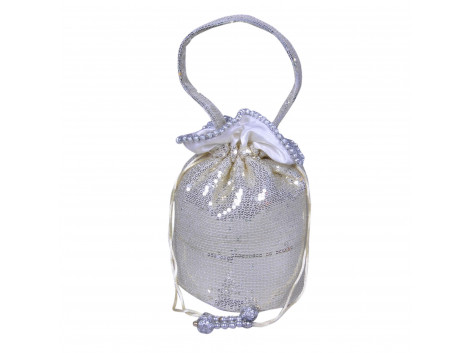 Angelfish Stylish Sequin Potali Bag