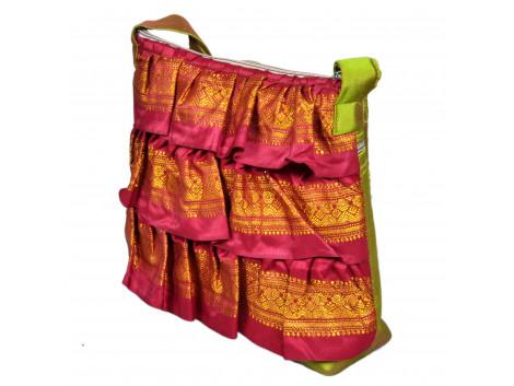 Angelfish Designer Frill Handbag