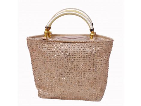 angelfish sequin mini handbag
