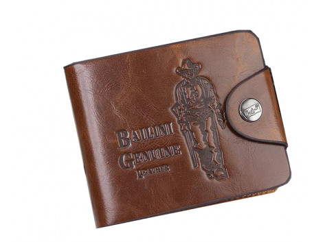 angelfish leather wallet cowboy for men