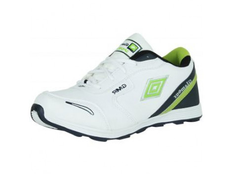 Glamour White Blue Sports Shoes (ART-6057)
