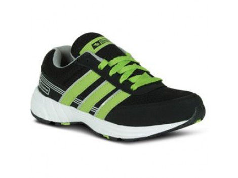 Glamour Black Green Sports Shoes (ART-7501)