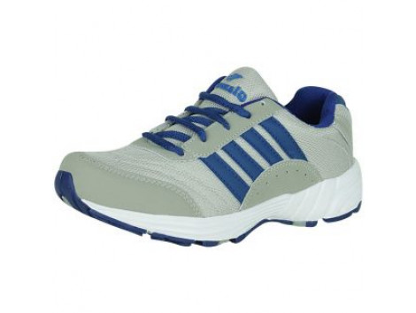 Glamour Grey R Blue Sports Shoes (ART-7510)