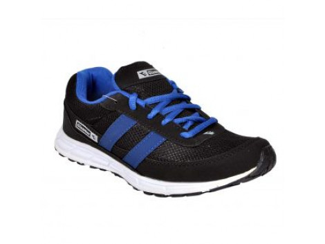 Glamour Black R Blue Sports Shoes (ART-RACER)