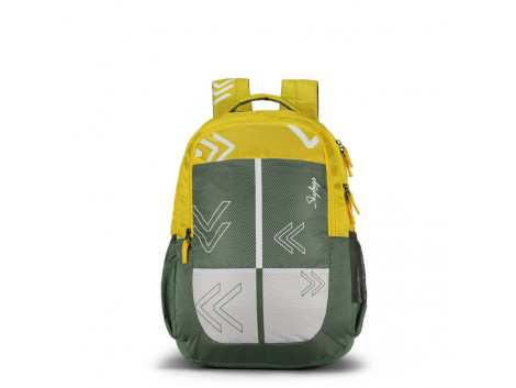 BINGO PLUS 04 GREEN SCHOOL BAG