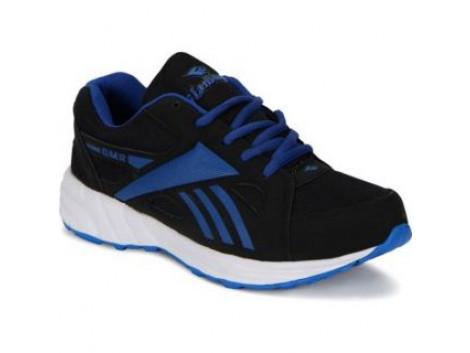 Glamour Black R Blue Sport Shoes (ART-3038)