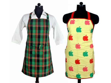 Switchon Cotton, Polyester Apron Free Size