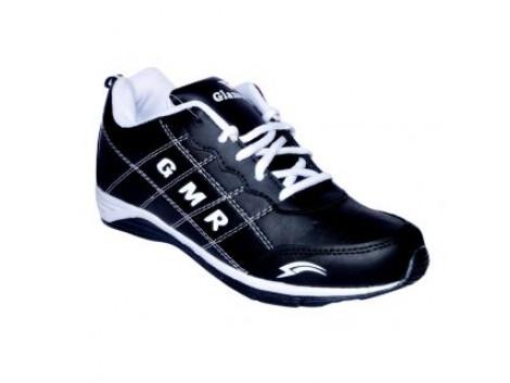 Glamour Black White Sports Shoes (Art-RIO)