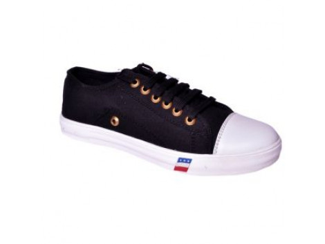 Glamour Black Sneakers (Art-L015)