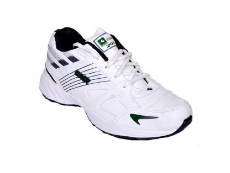 Glamour White Grey Sports Shoes (ART-3053)