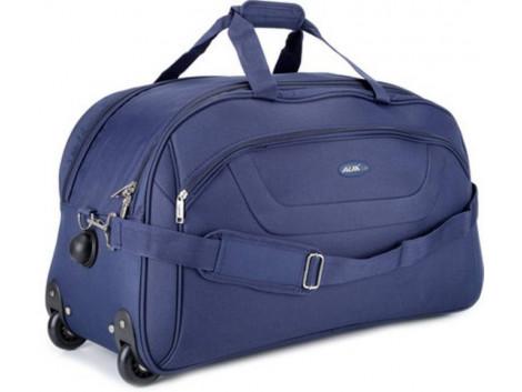 Alfa Cactus Regular 24 inch/60 cm Duffel Strolley Bag  (Blue)