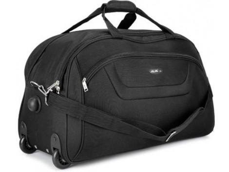Alfa Cactus 21 inch/53 cm Duffel Strolley Bag  (Black)