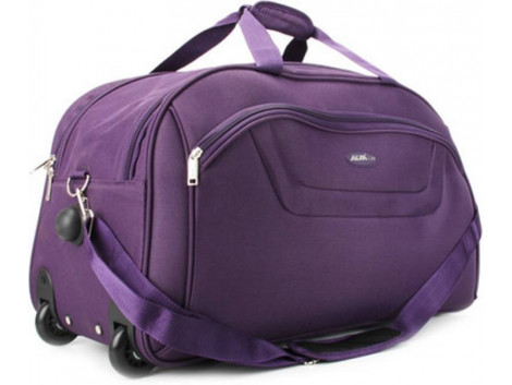 Alfa Cactus Regular 24 inch/60 cm Duffel Strolley Bag  (Purple)