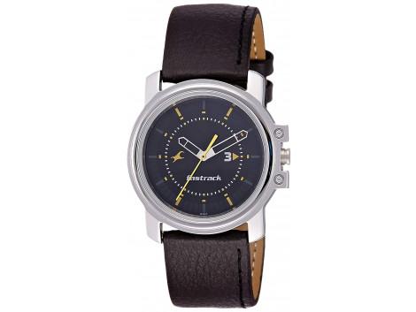 Fastrack 3039SL02 Analog Black Dial Men's Watch