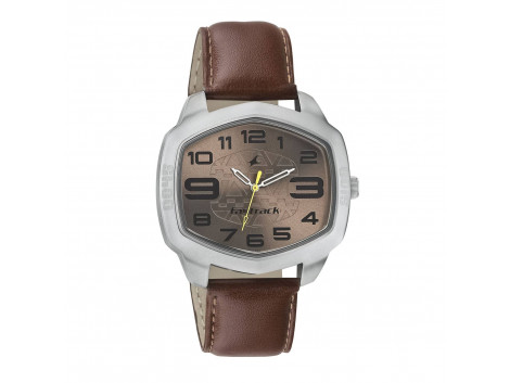 Fastrack 3119SL04 Analog Brown Dial Men Watch