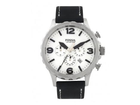 Fossil JR1485I Men White Dial Watch