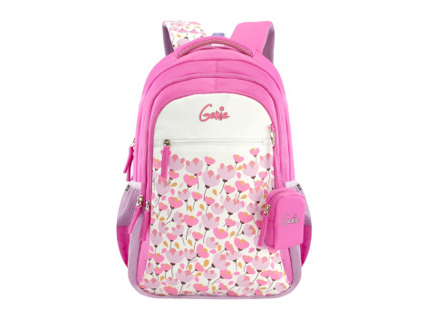 GENIE BLOSSOM PINK 17 SCHOOL BAGS FOR GIRLS