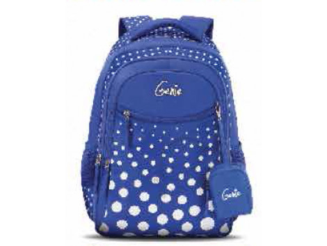 GENIE FIZZ BLUE 17 SCHOOL BAGS FOR GIRLS