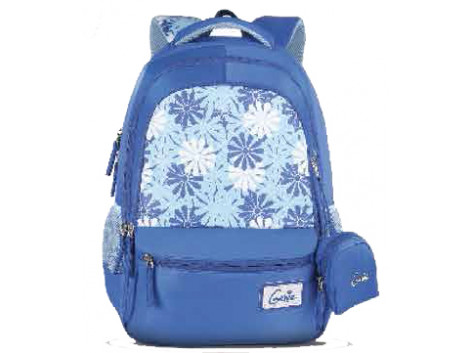 Genie Lily Blue 17 L Backpack For Girls