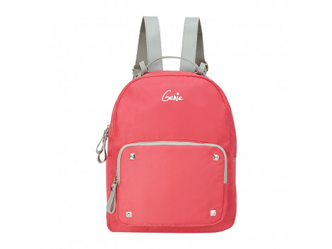 Genie Love Peach Backpack For Girl's
