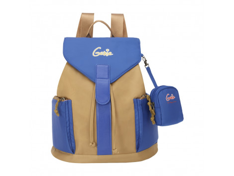 Genie Shade Khaki Women Backpack