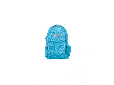 Genie Spring Blue 27L Backpack For Girls