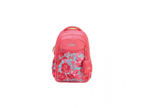 GENIE VALENTINES PINK 27L SCHOOL BAGS FOR GIRLS