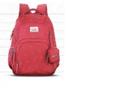 Genie Velvet Pink 36L Backpack For Girls