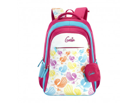 GENIE WINGS PINK 19 SCHOOL BAGS FOR GIRLS