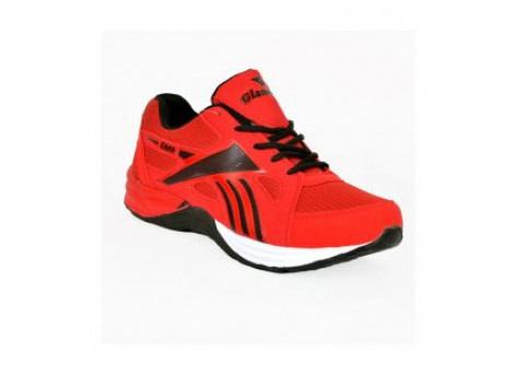 Glamour Red Sports Shoes (ART-5001)